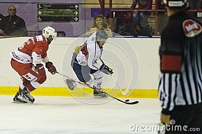 Ice Hockey Italian League Editorial Stock Image