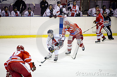 Ice Hockey Italian Premier League Editorial Image