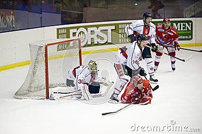 Ice Hockey Italian Premier League Editorial Image