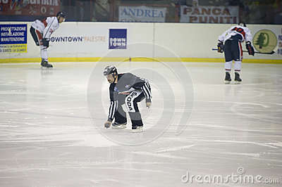 Ice Hockey Italian Premier League Editorial Photography