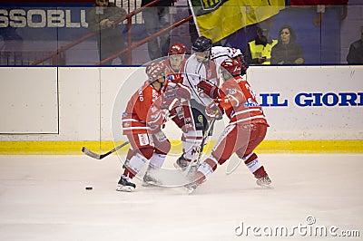 Ice Hockey Italian Premier League Editorial Stock Image