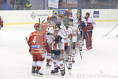 Ice Hockey Italian Premier League Editorial Stock Photo