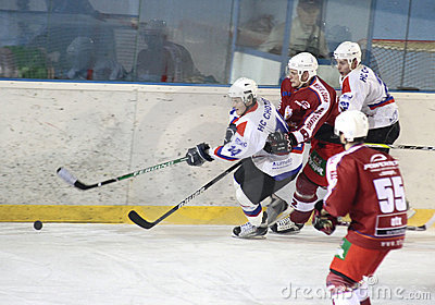 Ice hockey match Editorial Stock Photo