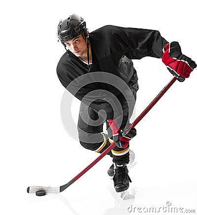 Free Ice Hockey Player Royalty Free Stock Image - 14874876