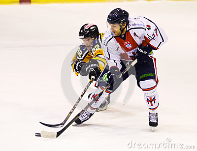 Ice hockey player Editorial Photo