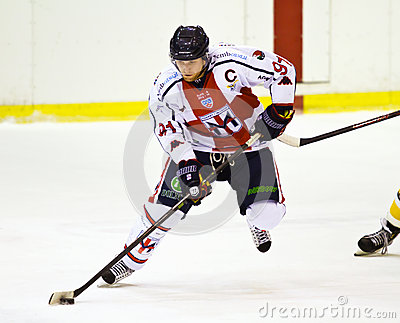 Ice hockey player Editorial Image