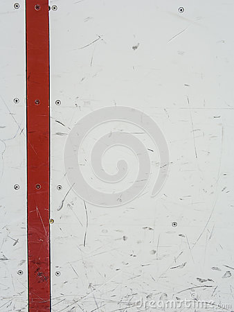 Ice hockey rink boards