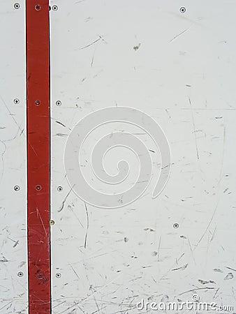 Ice hockey rink boards