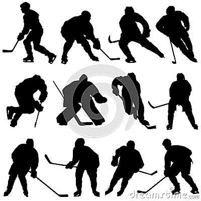 Free Ice Hockey Set Stock Photos - 4567953