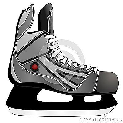 Ice hockey skates royalty free stock image