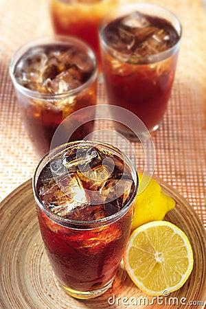 Free Ice Lemon Tea Stock Photography - 26246612