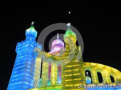 Ice light of China Harbin