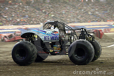 Ice Monster Monster Jam 2011 Editorial Image