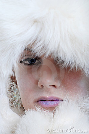 Ice princess closeup