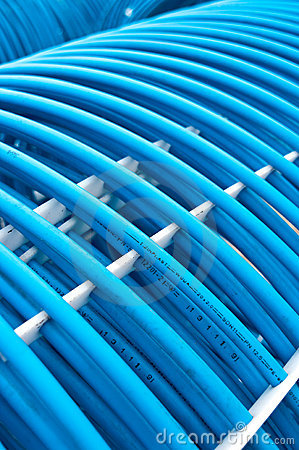 Ice rink plastic pipes