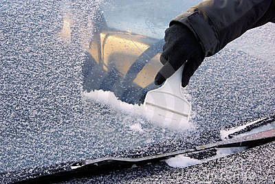 Ice scraping