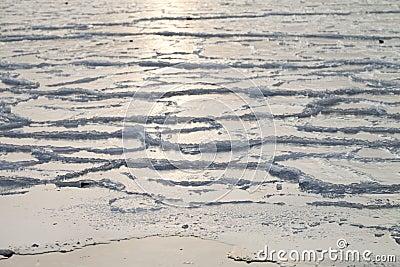 Ice on the sea