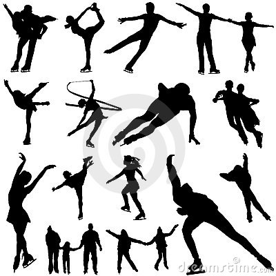 Free Ice Skate Vector Stock Images - 4800204