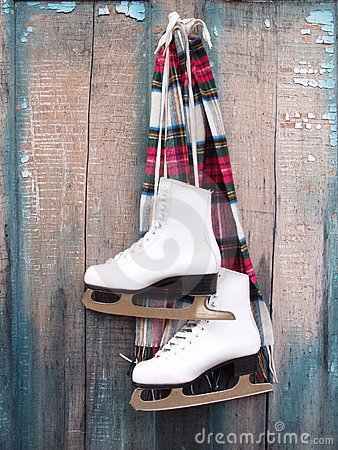 Free Ice Skates Stock Photos - 538703