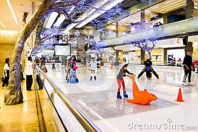 Ice skating Editorial Photography