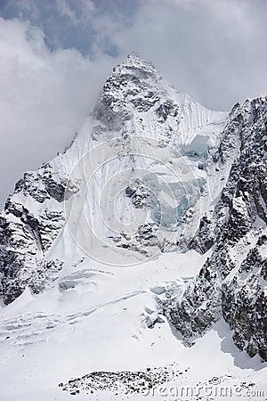 Ice summit, Himalayas, Nepal