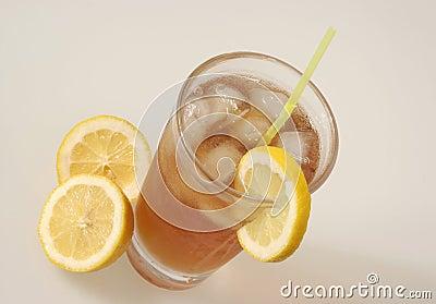 Ice Tea and lemon