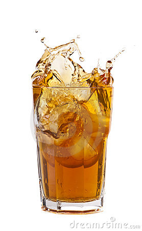 Free Ice Tea Splash Stock Images - 16706634