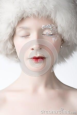 Ice woman
