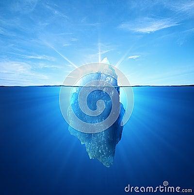 Free Iceberg Royalty Free Stock Image - 22220636