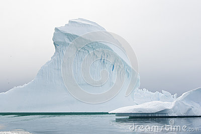 Iceberg in Antarctic waters.