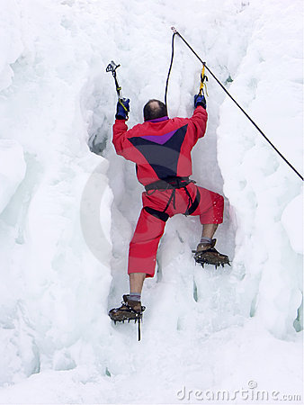 Iceberg climber