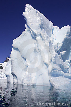 Free Iceberg - Cuverville Bay - Antarctica Royalty Free Stock Image - 21115296