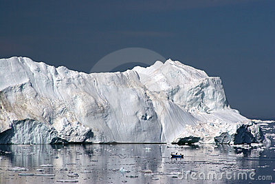 Iceberg in the Disco Bay, Ilulissat