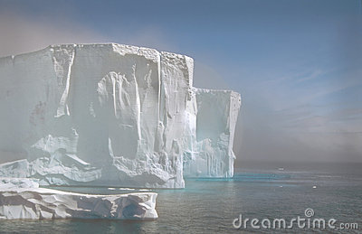 Iceberg In The Fog, Antarctica Royalty Free Stock Images - Image: 11802419