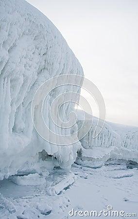Iceberg by Lake Baikal
