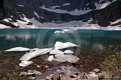 Iceberg Lake in Montana