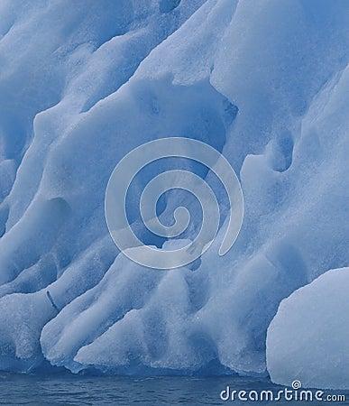 Iceberg in ocean