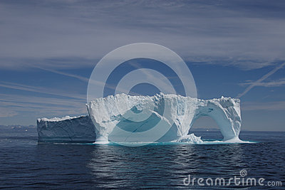 Iceberg off the coast of Greenland