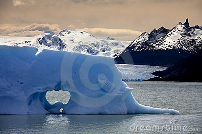 Iceberg in Patagonia in Southern Chile