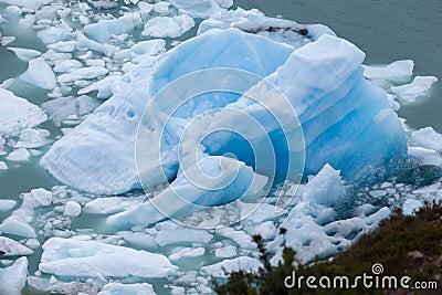 Iceberg in Perito Moreno El Calafate Argentina