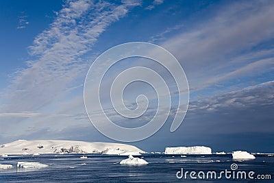 Icebergs de l Antarctique - de la mer de Weddell