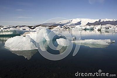 Icebergs Joekulsarlon, Iceland