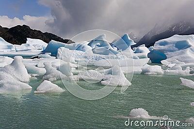 Icebergs - Largo Grey - Patagonia - Chile