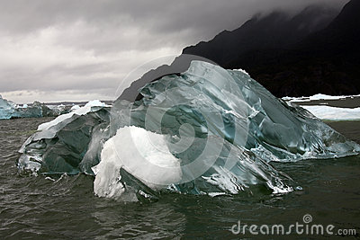 Icebergs - Patagonia - Chile - South America