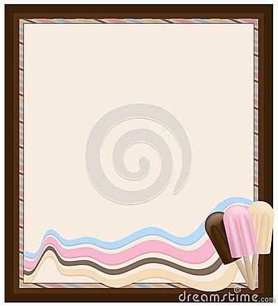 Icecream frame