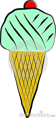 Icecream illustration