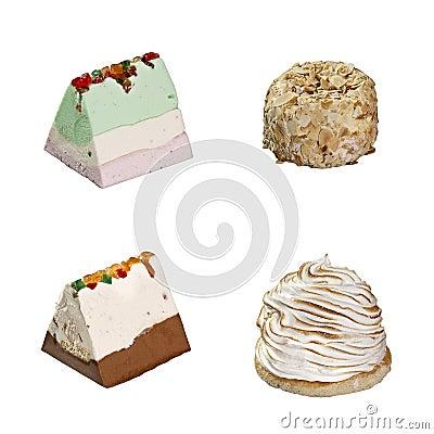 Icecream 4 slices