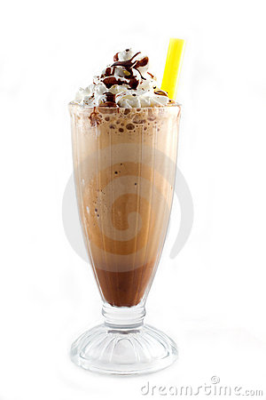 Free Iced Blended Frappucino Royalty Free Stock Image - 15571636