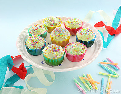 Iced Cup Cakes