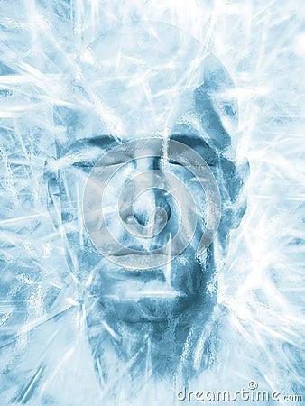 Free Iced Man Royalty Free Stock Image - 18757316